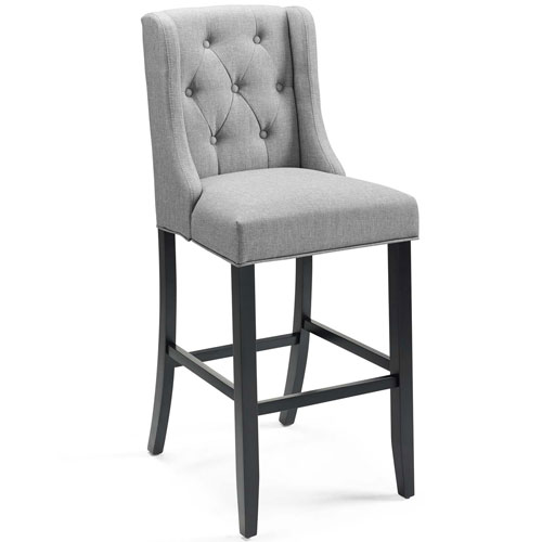 Monroe Light Gray Bar Stool