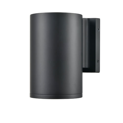 Artemis Matte Black Seven-Inch One-Light Outdoor Wall Sconce