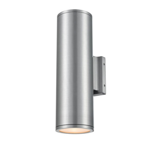 Artemis Brushed Aluminum 14-Inch One-Light Outdoor Wall Sconce