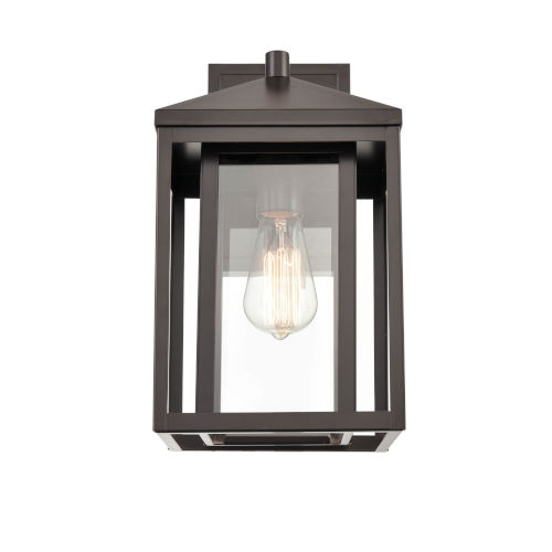Eloise Bronze Eight-Inch One-Light Outdoor Wall Sconce