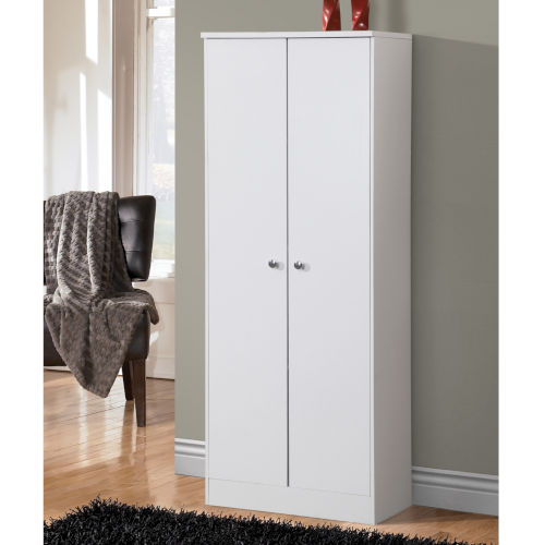 Uptown White 24-Inch Two-Door Pantry