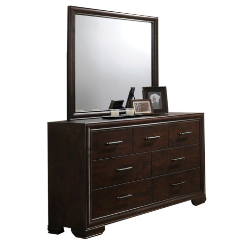 Selby Mahogany Dresser with Mirror