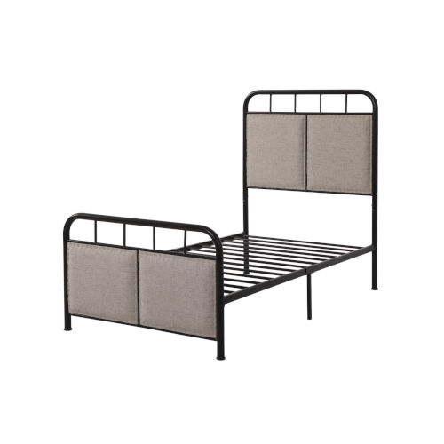 Selby Black Metal Twin Bed