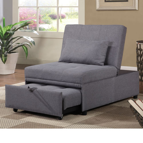Selby Gray 33-Inch Convertible Chair
