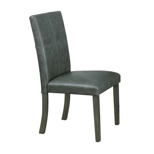Selby Black with Silver Side Chair