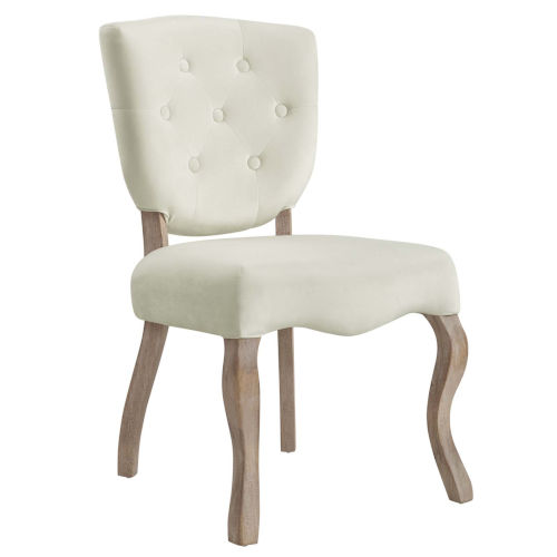 Aster Ivory 25-Inch Dining Side Chair