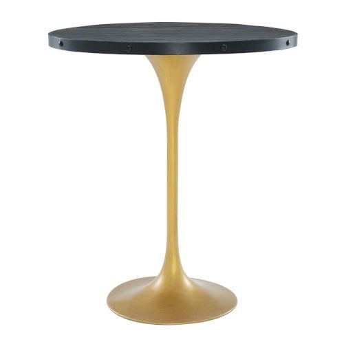 Cooper Black Gold Bar Table