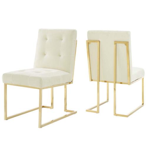 Cooper Velvet Dining Chair, Set of Two