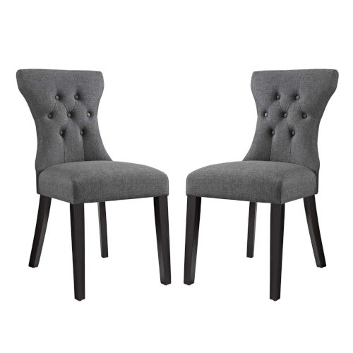 Vivian Gray 36-Inch Dining Side Chair, Set of Two