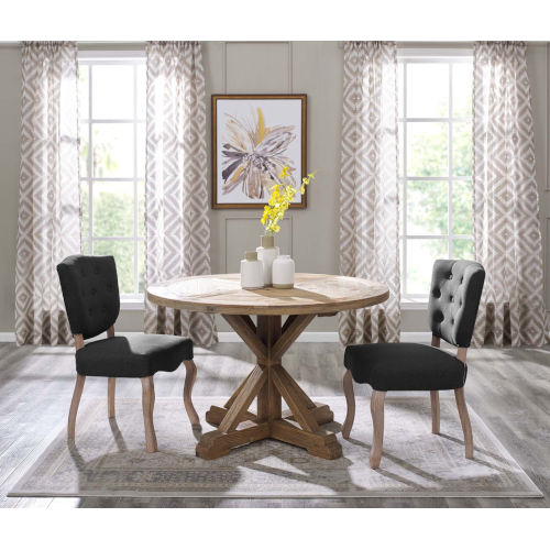 Grace Brown 47-Inch  Dining Table