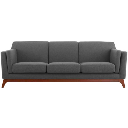 Nicollet Gray Upholstered Fabric Sofa