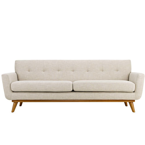 Nicollet 91-Inch Upholstered Fabric Sofa