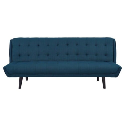 Nicollet Tufted Convertible Fabric Sofa Bed