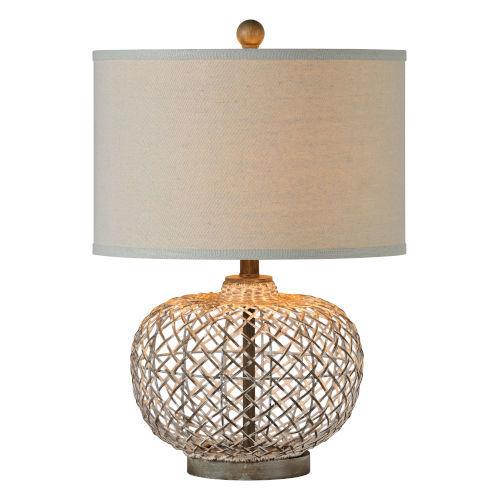 Hazel Gray Wash One-Light Table Lamp