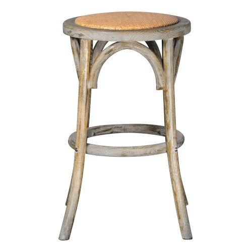 Willow Brown Wash Counter Stool