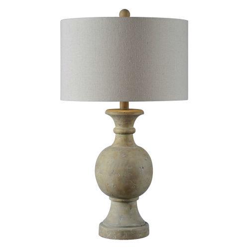 Hazel Gray 32-Inch One-Light Table Lamp