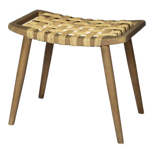 Cora Warm Brown 19-Inch Stool