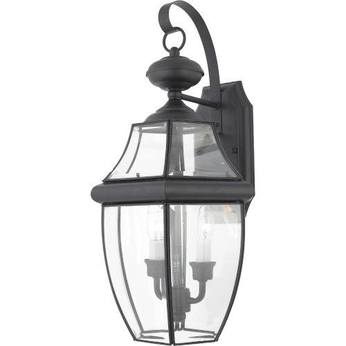 Bryant Black Two-Light Wall Lantern