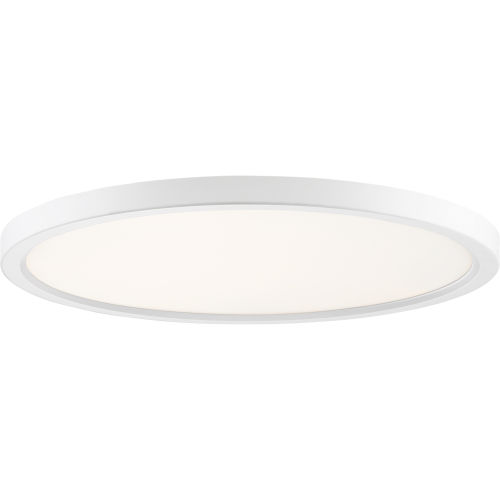 Uptown White 20-Inch LED Flush Mount