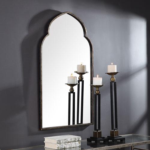Aster Bronze Arch Wall Mirror