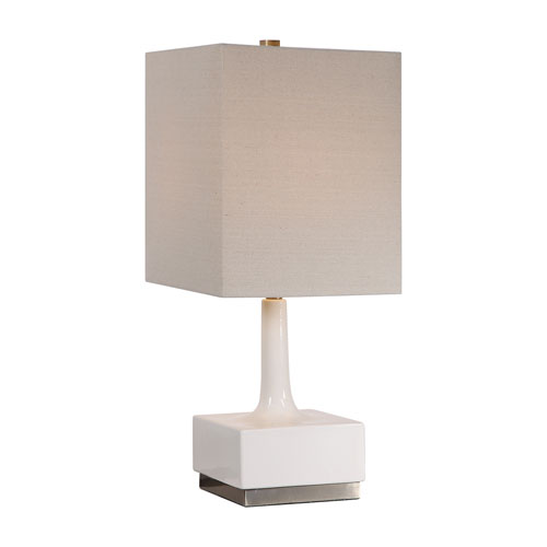 Isles White 29-Inch One-Light Table Lamp