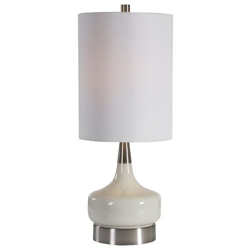 Selby White 25-Inch One-Light Table Lamp