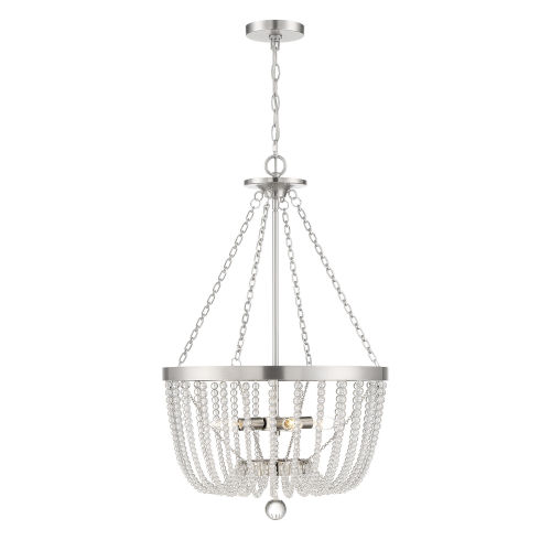 Monroe Antique Nickel Four-Light Pendant