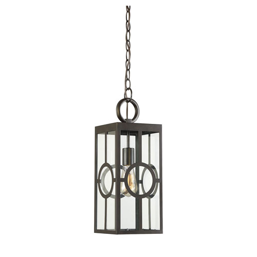 castor English Bronze 17-Inch One-Light Outdoor Wall Sconce