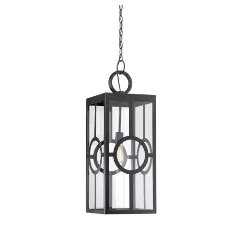 castor English Bronze One-Light Outdoor Pendant