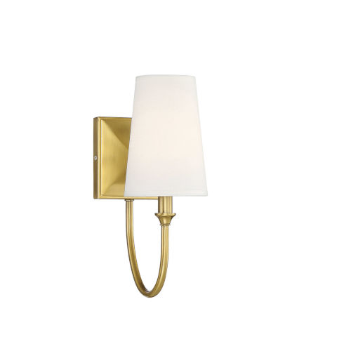 Anna Warm Brass One-Light Wall Sconce