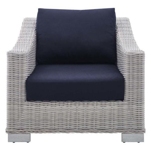 Roat Outdoor Patio Wicker Rattan Armchair