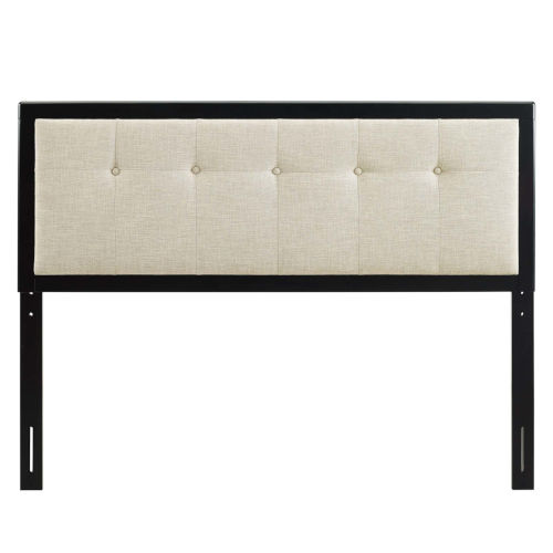 Whittier 23-Inch Tufted Wood Twin Headboard
