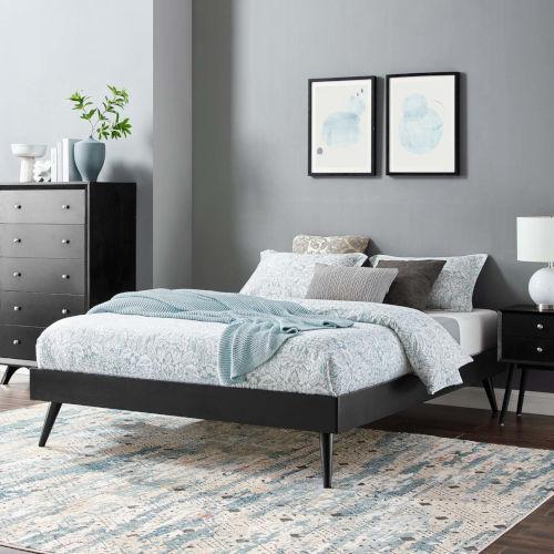 Loring Twin Wood Platform Bed Frame