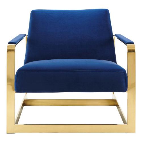 Monroe Performance Velvet Accent Chair