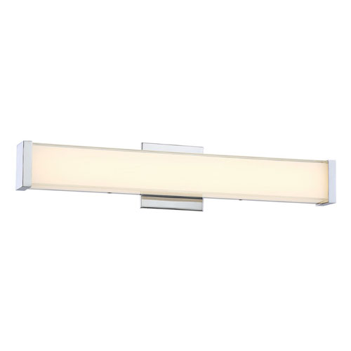 Nicollet Chrome 22-Inch LED Bath Light