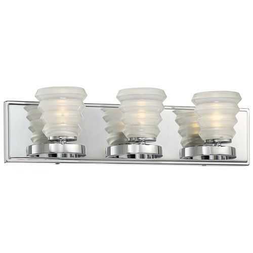 Selby Chrome 21-Inch LED Bath Vanity Light
