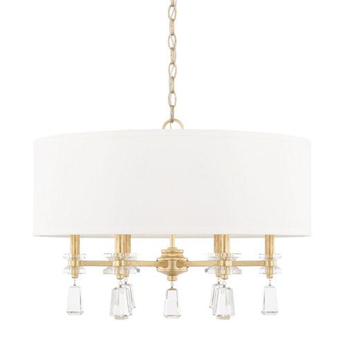 Cooper Gold Six-Light Pendant