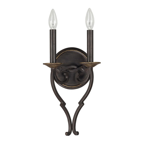 251 First Wellington Surrey Two-Light Wall Sconce