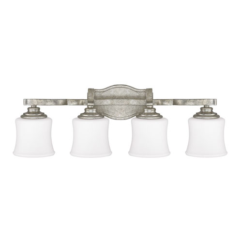 251 First Whittier Antique Silver Four-Light Vanity
