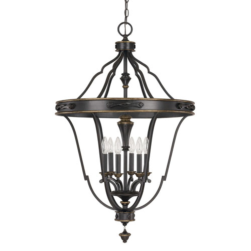 Wellington Surrey Six-Light Foyer Pendant