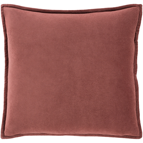 Whittier Rust 22 In. Throw Pillow
