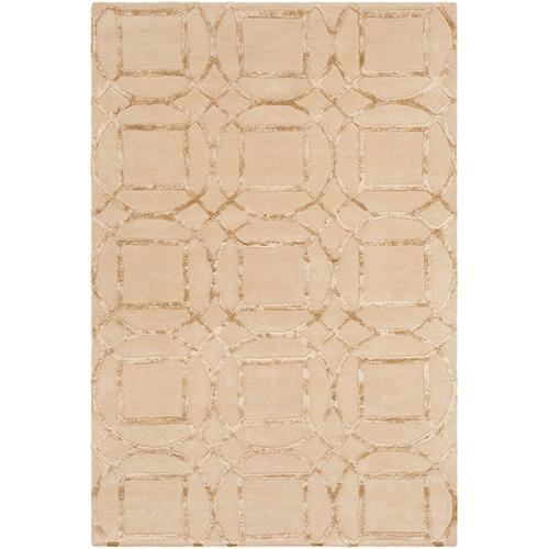Monroe Khaki Rectangular: 5 Ft. x 7 Ft. 6 In. Rug