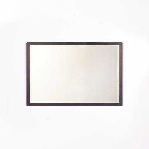 251 First Camden Black 24 x 36-Inch Rectangular Mirror