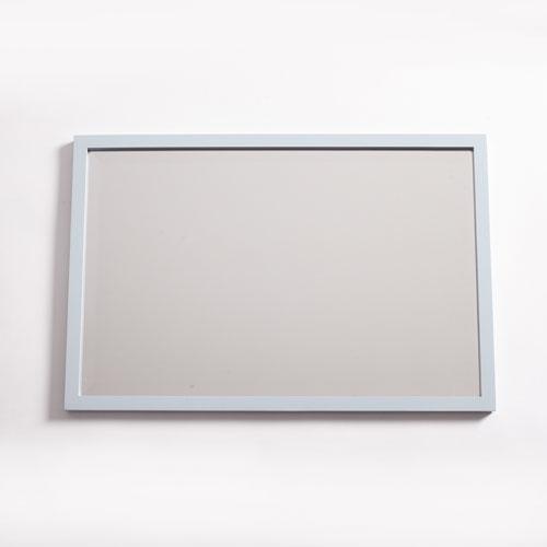 251 First Camden Misty Blue 24 x 36-Inch Rectangular Mirror