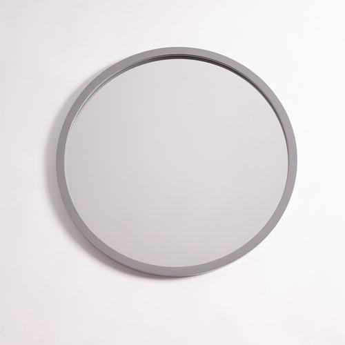 251 First Camden Gray 28-Inch Circular Mirror