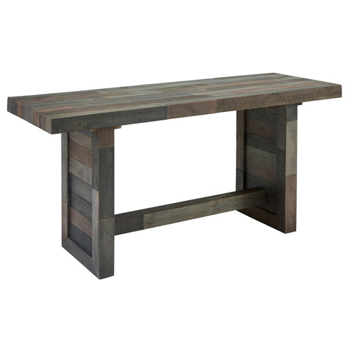 Natalie Distressed Reclaimed Pine Gathering Table