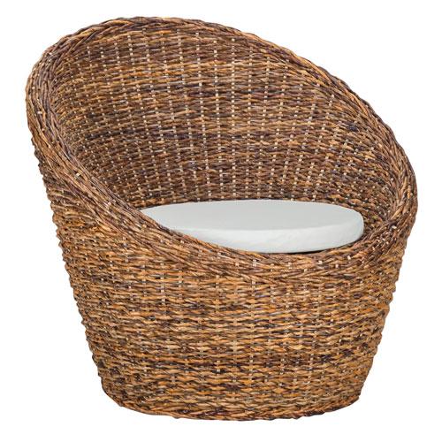 Emma Rattan Abaca Arm Chair