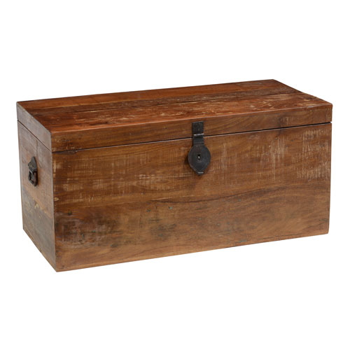 Owen Brown 36 In. Reclaimed Wood Storage Trunk