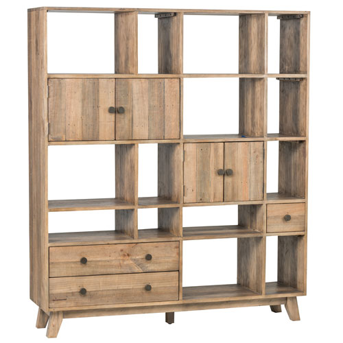 Jace Natural Reclaimed Pine Wall Unit