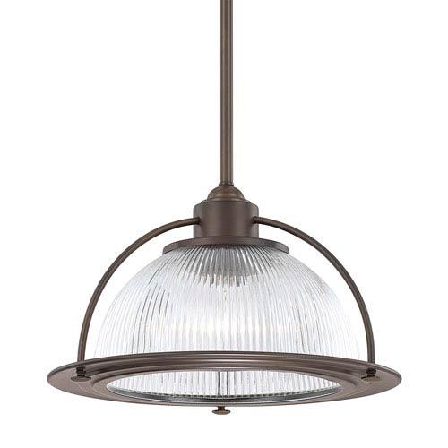 Afton Bronze One-Light Pendant